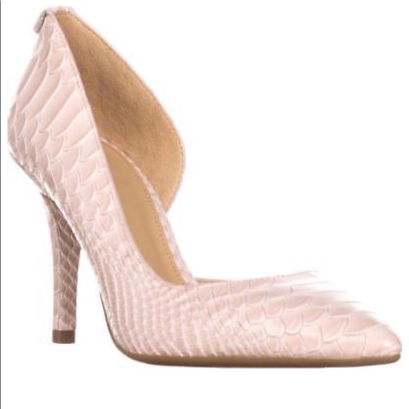 michael kors pumps pink